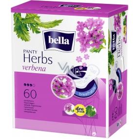 Bella Herbs Verbena hygienické aromatizované slipové vložky 60 kusů + odličovací tampony 30 kusů