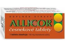Naturvita Allicor česnekové tablety zajistí maximum původních látek čerstvého česneku 60 tablet