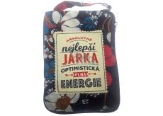 Albi Skládací taška na zip do kabelky se jménem Jarka 42 x 41 x 11 cm