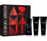 Giorgio Armani Code Men toaletní voda 50 ml + balzám po holení 75 ml + sprchový gel 75 ml, dárková sada