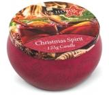 Heart & Home Kouzlo Vánoc Sojová vonná svíčka v plechovce hoří až 30 hodin 125 g