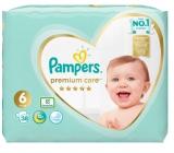 Pampers Premium Care 6 Extra Large 13+ kg plenkové kalhotky 38 kusů