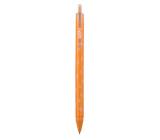 Spoko Flora kuličkové pero, oranžové, modrá náplň, 0,5 mm