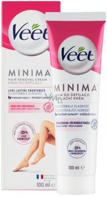 Veet Minima Depilatory Cream For Normal Skin 100 Ml Vmd