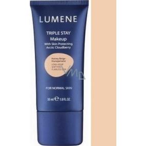 Lumene Double Stay minerální make-up 03 Perfect Beige 30 ml