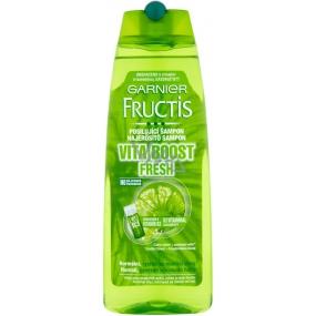 Garnier Fructis Vita Boost Fresh posilující šampon pro normální, rychle se mastící vlasy 250 ml