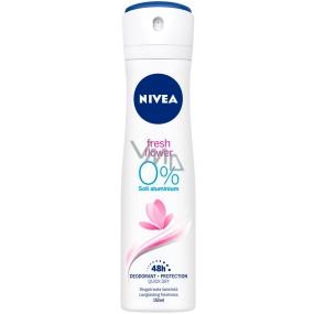 Nivea Fresh Flower vůní deodorant sprej pro ženy 150 ml