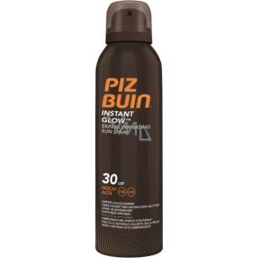 Piz Buin Instant Glow SPF30 rozjasňující sprej na opalování s okamžitým zářivým efektem 150 ml