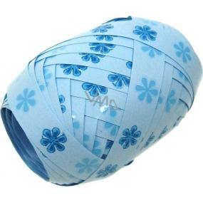 Nekupto Klubíčko Luxus modrá s kytičkou 167 43 KB 10 m