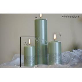 Lima Stuha svíčka mentolová válec 50 x 100 mm 1 kus