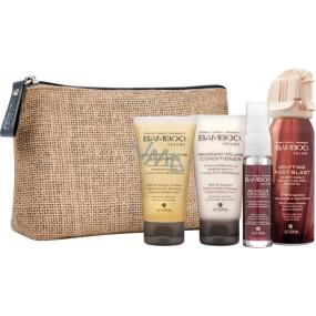 Alterna Bamboo Volume Hair Transformation Kit Abundant Volume Shampoo 40 ml, Abundant Volume Conditioner 40 ml, Uplifting Hair Spray 75 ml, Sustainable Volume Spray 25 ml, pro maximální objem cestovní dárková sada