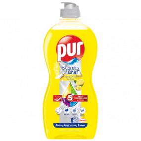 Pur Secrets of Chef Soda Effect Citron prostředek na mytí nádobí 450 ml
