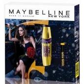 Maybelline Collosal Big Shot Volum Express řasenka Black 9,5ml + Colossal Kajal 12h tužka na oči Extra Black 0,25 g, kosmetická sada