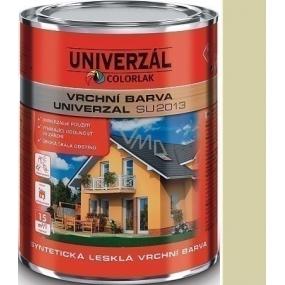 Colorlak Univerzal SU2013 syntetická lesklá vrchní barva Slonová kost 0,6 l