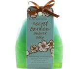 Bomb Cosmetics Tajemná zahrada - Secret Garden Sprchové masážní mýdlo 140 g