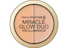 Max Factor Miracle Glow Duo krémový rozjasňovač 020 Medium 11 g