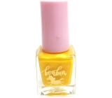 Dor Cosmetics BonBon na vodní bázi lak na nehty pro děti 08 žlutý 5 ml