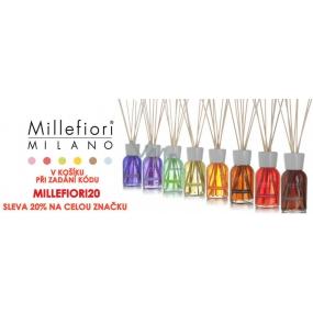 DÁREK Sleva 20% na výrobky od Millefiori Milano, V košíku zadej kód MILLEFIORI20
