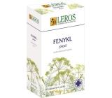 Leros Fenykl plod bylinný čaj na trávení, správnou činnost střev, tvorbu mateřského mléka 20 x 1,5 g
