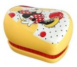 Tangle Teezer Compact Disney Minnie Mouse Profesionální kompaktní kartáč na vlasy Yellow