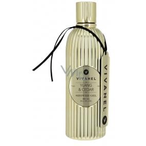 Vivian Gray Vivanel Prestige Ylang a Cedr luxusní sprchový gel 300 ml
