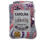Albi Skládací taška na zip do kabelky se jménem Karolína 42 x 41 x 11 cm