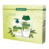 Palmolive Naturals Olive & Milk tekuté mýdlo 300 ml + sprchový gel 250 ml, kosmetická sada