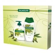Palmolive Natur Olive Tekuté mýdlo 300 ml + sprchový gel 250 ml, kosmetická sada