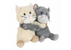 Albi Hřejivý plyšák Kočičky v páru 18 cm