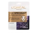 Loreal Paris Age Specialist 55+ obnovující textilní maska 30 g