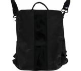 Albi Eko batoh alá kabelka vyrobený z pratelného papíru Černý 33 x 25 x 11 cm