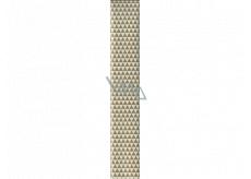 Ditipo Balicí papír bílo zlaté trojúhelníky 100 x 70 cm 2 kusy
