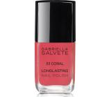 Gabriella Salvete Longlasting Enamel dlouhotrvající lak na nehty s vysokým leskem33 Coral 11 ml