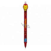 Colorino Gumovatelné pero Marvel Ironman červené, modrá náplň 0,5 mm