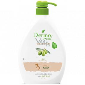 Dermomed Bio Oliva krémové tekuté mýdlo dávkovač 600 ml