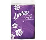 Linteo Satin Mini kapesníky papírové 3 vrstvé 1 kus