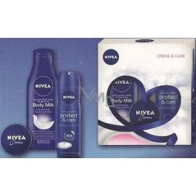 Nivea Body Milk tělové mléko 250 ml + antiperspirant sprej 150 ml + krém 30 ml, kosmetická sada