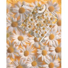 Nekupto Dárková papírová taška malá 084 01 KAS Kopretiny 14 x 11 x 6,5 cm