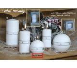 Lima Aura Intimity vonná svíčka bílá koule 80 mm 1 kus
