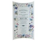 Bohemia Gifts & Cosmetics Blue Spa s glycerinem extraktem z mořské řasy ručně vyrobené toaletní mýdlo v papírové krabičce 100 g
