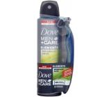 Dove Men + Care Elements Minerals & Sage antiperspirant sprej pro muže 150 ml + holicí strojek se 3 břity, duopack