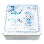 Liran Vánoční balení černých, zelených, bílých čajů SNĚHULÁK 6 x 20 x 1,5 g