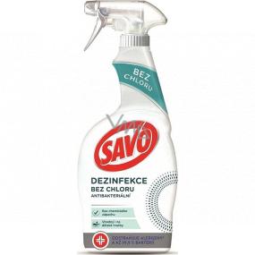 Savo Dezinfekce bez chloru antibakteriální čisticí prostředek rozprašovač 700 ml