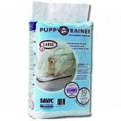 Savic Puppy Trainer Pleny, výchovné podložky pro štěňata, skvěle absorbující 60 x 45 cm 30 kusů