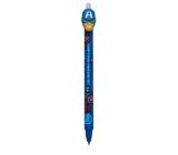 Colorino Gumovatelné pero Captain America modré, modrá náplň 0,5 mm