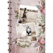 Ditipo Fotoalbum Retro Fotky slečna a klec B4 24 x 34 cm