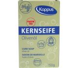 Kappus Kernseife Oliva univerzální tvrdé přírodní mýdlo vyrobeno z přírodních látek 150 g