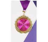 Albi Papírové přání do obálky Přání s medailí - Úžasná v každém směru