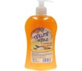 Elegance Mandlový olej tekuté mýdlo dávkovač 500 ml
