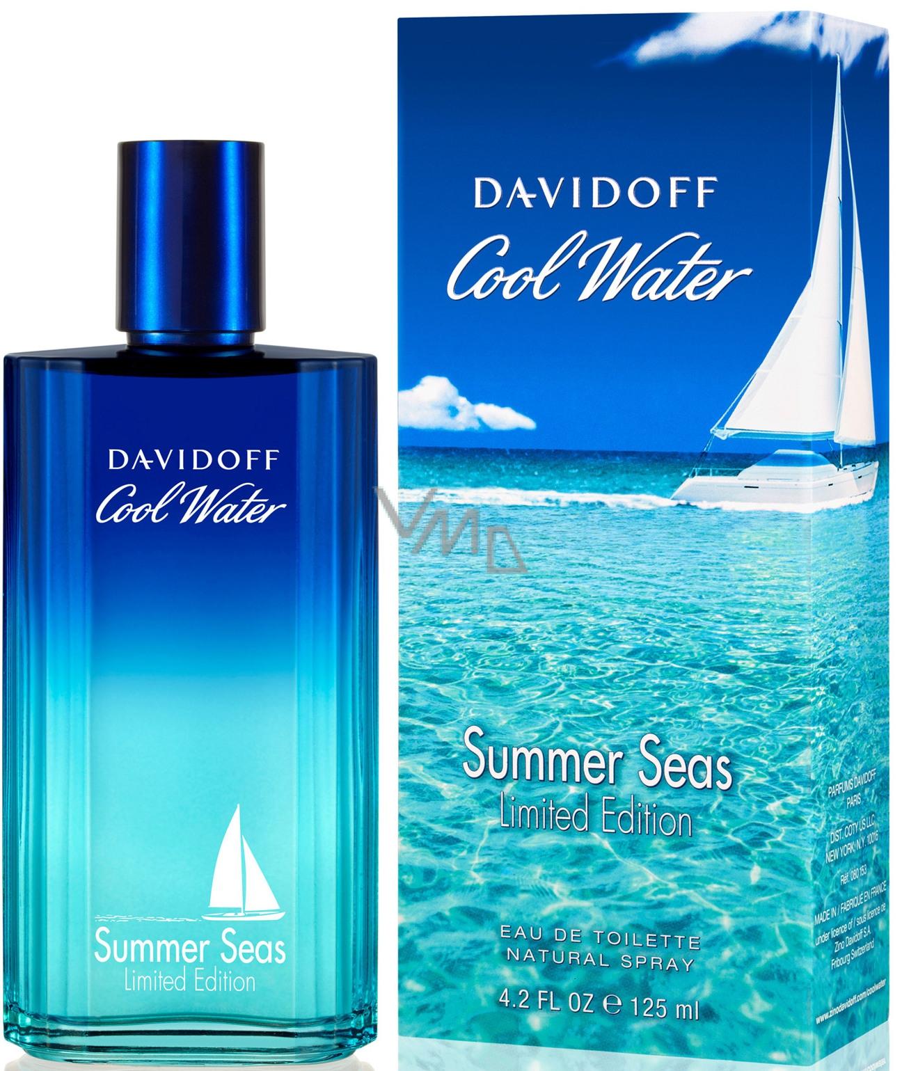 Davidoff Cool Water Summer Seas Man toaletní voda 125 ml